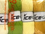 İçerik 52% Naylon, 48% Akrilik, Mixed Lot, Brand Ice Yarns, fnt2-64673
