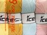 Contenido de fibra 52% De nylon, 48% Acrílico, Mixed Lot, Brand Ice Yarns, fnt2-64675