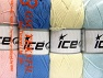 Fiber Content 52% Nylon, 48% Acrylic, Mixed Lot, Brand Ice Yarns, fnt2-64676