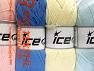 Contenido de fibra 52% De nylon, 48% Acrílico, Mixed Lot, Brand Ice Yarns, fnt2-64676