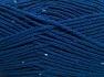 Fiber Content 98% Acrylic, 2% Paillette, Brand Ice Yarns, Dark Blue, fnt2-64922