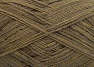 Fiber Content 74% Cotton, 26% Polyamide, Khaki Shades, Brand Ice Yarns, fnt2-64944
