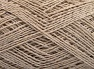 Fiber Content 76% Cotton, 24% Polyester, Light Beige, Brand Ice Yarns, fnt2-64948