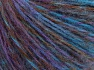Fiber Content 85% Acrylic, 15% Wool, Turquoise, Purple, Brand Ice Yarns, Brown, fnt2-65127