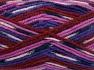 Fiber Content 50% Wool, 50% Acrylic, Purple, Light Pink, Brand Ice Yarns, Fuchsia, Burgundy, Black, fnt2-65205