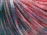 Fiber Content 70% Polyamide, 19% Merino Wool, 11% Acrylic, Red, Brand Ice Yarns, Green Shades, fnt2-65213
