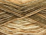 Fiber Content 50% Premium Acrylic, 50% Wool, Brand Ice Yarns, Brown Shades, Beige, fnt2-65280