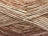 Fiber Content 50% Premium Acrylic, 50% Wool, Brand Ice Yarns, Cream, Camel, Beige, fnt2-65281