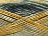 Fiber Content 50% Premium Acrylic, 50% Wool, Brand Ice Yarns, Grey Shades, Gold Shades, fnt2-65282