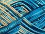 Περιεχόμενο ίνας 100% Ακρυλικό, Turquoise, Brand Ice Yarns, Blue, Beige, fnt2-65352