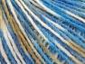 Fiber Content 50% Wool, 50% Acrylic, White, Brand Ice Yarns, Blue Shades, Beige, fnt2-65366