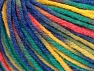 Contenido de fibra 60% Viscosa, 20% Poliamida, 10% Lana, Yellow, Purple, Pink, Brand Ice Yarns, Green, fnt2-65429