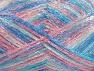 Fiber Content 50% Polyamide, 37% Acrylic, 13% Mohair, Pink Shades, Brand Ice Yarns, Cream, Blue Shades, fnt2-65449