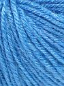 Fiber Content 40% Merino Wool, 40% Acrylic, 20% Polyamide, Light Blue, Brand Ice Yarns, Yarn Thickness 2 Fine  Sport, Baby, fnt2-65581