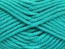 Fiber Content 50% Wool, 50% Acrylic, Turquoise, Brand Ice Yarns, fnt2-65635