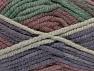 İçerik 50% Yün, 50% Akrilik, Maroon, Lilac, Brand Ice Yarns, Green Shades, fnt2-65639