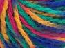 Vezelgehalte 50% Acryl, 50% Wol, Yellow, Brand Ice Yarns, Green, Fuchsia, Blue, Yarn Thickness 4 Medium  Worsted, Afghan, Aran, fnt2-65652