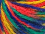 İçerik 50% Yün, 50% Akrilik, Yellow, Orange, Brand Ice Yarns, Green, Blue, Yarn Thickness 4 Medium  Worsted, Afghan, Aran, fnt2-65653