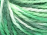 Fiber Content 50% Acrylic, 50% Wool, Brand Ice Yarns, Green Shades, Yarn Thickness 4 Medium  Worsted, Afghan, Aran, fnt2-65655