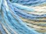 Vezelgehalte 50% Acryl, 50% Wol, White, Brand Ice Yarns, Camel, Blue Shades, Yarn Thickness 4 Medium  Worsted, Afghan, Aran, fnt2-65658