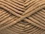 Fiber Content 75% Acrylic, 25% Superwash Wool, Light Camel, Brand Ice Yarns, Yarn Thickness 6 SuperBulky  Bulky, Roving, fnt2-65690