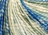 Fiber Content 77% Cotton, 23% Acrylic, Light Green, Brand Ice Yarns, Cream Shades, Blue Shades, Yarn Thickness 4 Medium  Worsted, Afghan, Aran, fnt2-65703