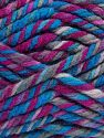 Vezelgehalte 75% Acryl, 25% superwash wol, Brand Ice Yarns, Fuchsia, Blue Shades, fnt2-65762
