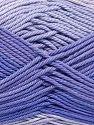 Fiberinnehåll 100% Merceriserad bomull, Lilac Shades, Brand Ice Yarns, fnt2-65793