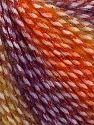 Fiber Content 40% Polyamide, 35% Acrylic, 15% Mohair, 10% Metallic Lurex, Purple, Brand Ice Yarns, Gold Shades, fnt2-65808
