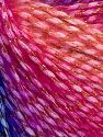 Fiber Content 40% Polyamide, 35% Acrylic, 15% Mohair, 10% Metallic Lurex, Pink Shades, Lilac, Brand Ice Yarns, Blue, fnt2-65811