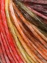 Fiber Content 50% Modal, 35% Acrylic, 15% Wool, Yellow, Orange Shades, Brand Ice Yarns, Black, fnt2-65849