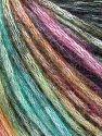 Contenido de fibra 50% Modal, 35% Acrílico, 15% Lana, Rainbow, Brand Ice Yarns, Black, fnt2-65850