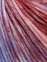 Contenido de fibra 50% Modal, 35% Acrílico, 15% Lana, Lilac Shades, Brand Ice Yarns, Burgundy Shades, fnt2-65852