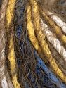 Vezelgehalte 60% Acryl, 40% Polyamide, Yellow, White, Khaki, Brand Ice Yarns, Blue, Yarn Thickness 5 Bulky  Chunky, Craft, Rug, fnt2-65890