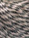 Fiber Content 70% Polyamide, 19% Merino Wool, 11% Acrylic, Brand Ice Yarns, Black, Beige, fnt2-65895
