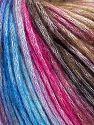 Contenido de fibra 50% Modal, 35% Acrílico, 15% Lana, Brand Ice Yarns, Fuchsia, Brown Shades, Blue Shades, Yarn Thickness 4 Medium  Worsted, Afghan, Aran, fnt2-65918