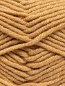 Fiber Content 50% Acrylic, 50% Merino Wool, Light Brown, Brand Ice Yarns, fnt2-65946