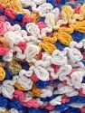 İçerik 50% Akrilik, 50% Polyamid, White, Salmon, Brand Ice Yarns, Gold, Blue, fnt2-65978