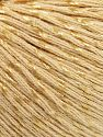 Fiber Content 70% Mercerised Cotton, 30% Viscose, Brand Ice Yarns, Dark Cream, fnt2-65987