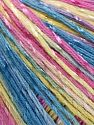 Fiber Content 70% Mercerised Cotton, 30% Viscose, Pink, Olive Green, Brand Ice Yarns, Blue, fnt2-66002