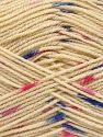 Περιεχόμενο ίνας 100% Ακρυλικό, Pink Shades, Khaki, Brand Ice Yarns, Dark Cream, Blue, fnt2-66056