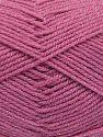 İçerik 94% Akrilik, 6% Metalik Simli, Brand Ice Yarns, Candy Pink, fnt2-66066