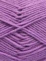 Fiber Content 60% Merino Wool, 40% Acrylic, Light Lilac, Brand Ice Yarns, fnt2-66084