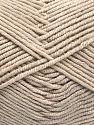 Fiber Content 50% Cotton, 50% Acrylic, Brand Ice Yarns, Beige, fnt2-66099