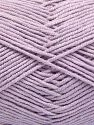 Fiber Content 50% Cotton, 50% Acrylic, Light Lilac, Brand Ice Yarns, fnt2-66115