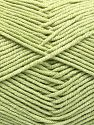 Vezelgehalte 50% Katoen, 50% Acryl, Light Green, Brand Ice Yarns, fnt2-66118