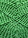 Fiber Content 50% Cotton, 50% Acrylic, Brand Ice Yarns, Green, fnt2-66119
