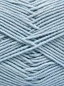 Fiber Content 50% Cotton, 50% Acrylic, Brand Ice Yarns, Baby Blue, fnt2-66124