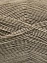 Very thin yarn. It is spinned as two threads. So you will knit as two threads. Yardage information is for only one strand. Fiber Content 100% Acrylic, Light Camel, Brand Ice Yarns, fnt2-66131