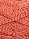 Very thin yarn. It is spinned as two threads. So you will knit as two threads. Yardage information is for only one strand. İçerik 100% Akrilik, Brand Ice Yarns, Dark Salmon, fnt2-66151